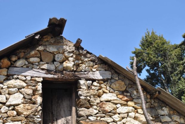 In this particular village, many of the houses showed beautiful stonework.