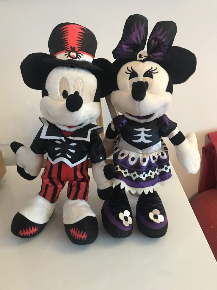 Phantom Mickey Mouse Minnie Mouse plush