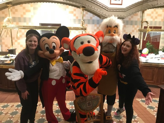 Mickey Mouse Tigger and Gepetto