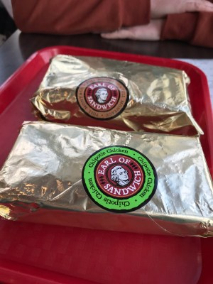 Earl of Sandwich sandwiches