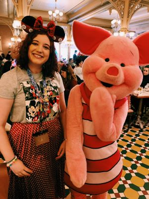 Breakfast with Piglet at Plaza Gardens!