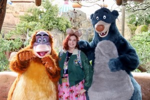 Baloo and King Louie The Jungle Book