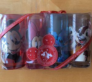 Gift wrapped Disney glasses
