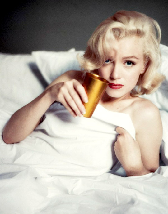 Marilyn by Milton Greene in October 1953.