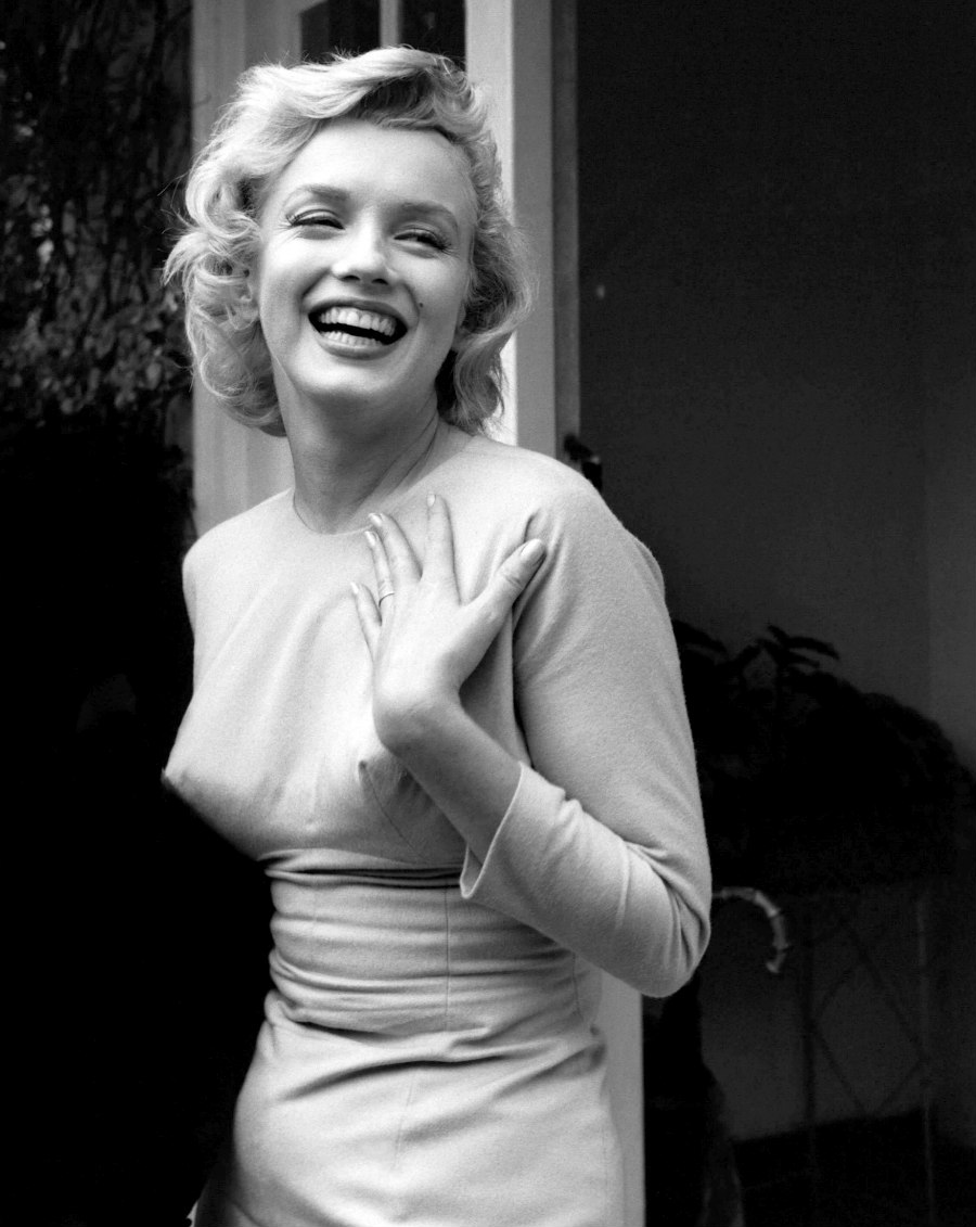 Marilyn in England in July 1956.