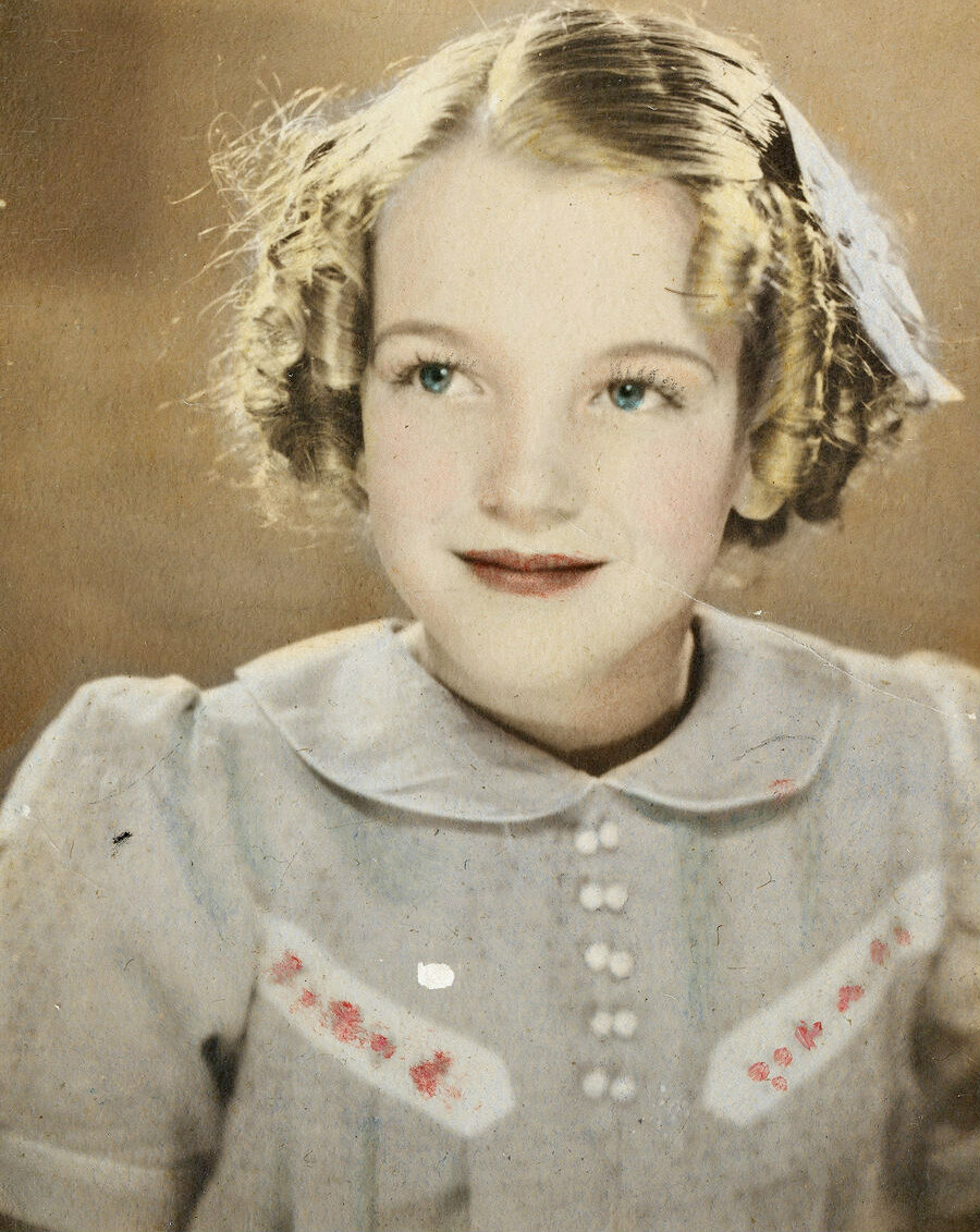 Marilyn in the 1930s.