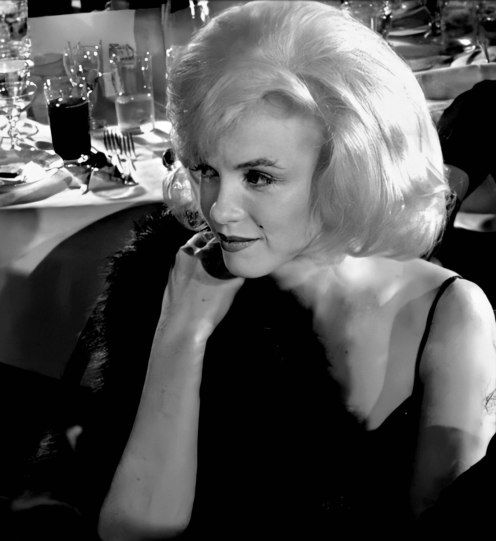 Marilyn attends a Benefit for The Actors Studio at the Roseland Dance City on March 13th 1961.