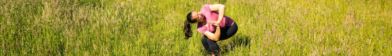 Megan Sety yoga revolved chair