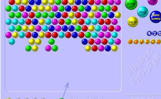 Renkli Balon Patlatma Oyunu Oyna Bedava