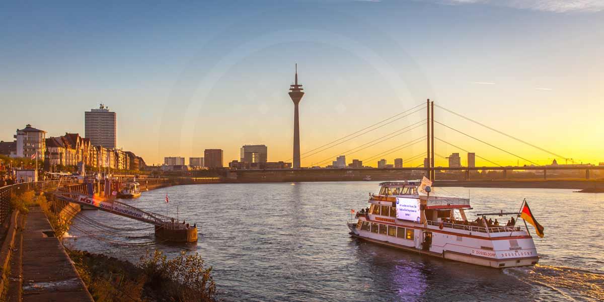 Dsseldorf Bilder Fotokunst  Collagen Panorama