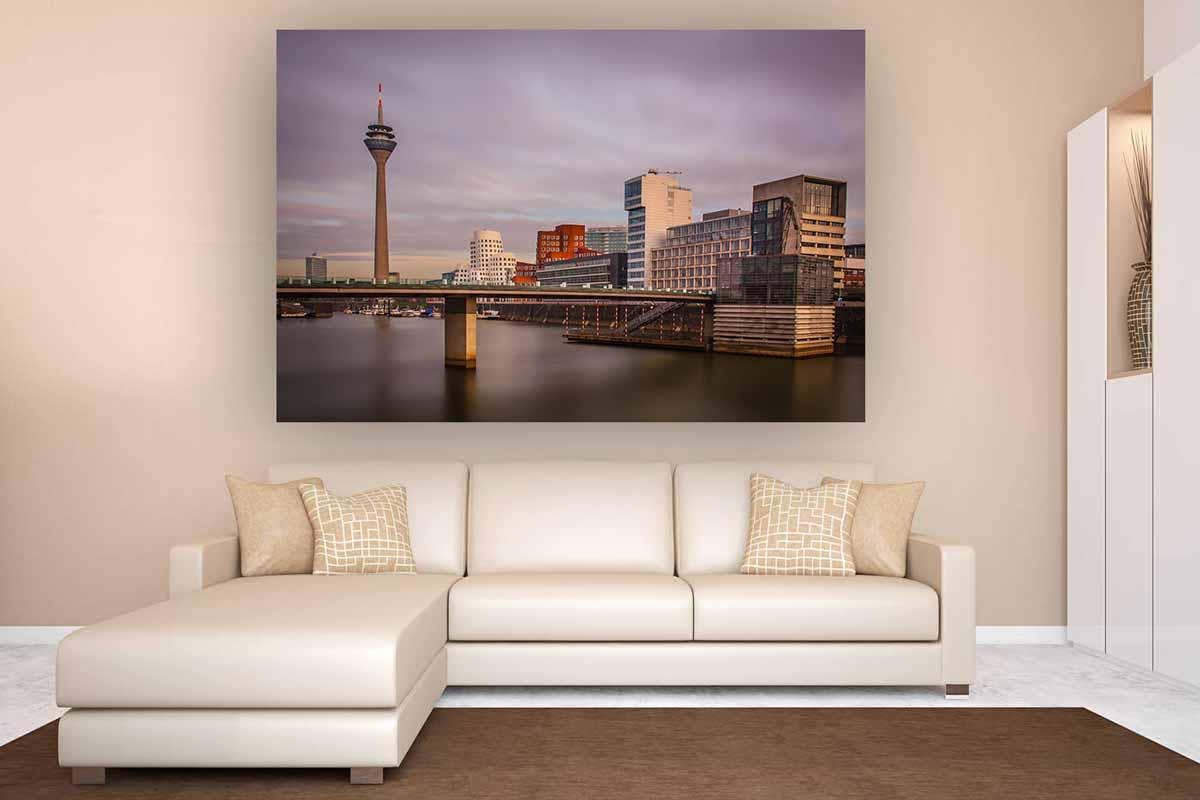 Wandbilder Wohnzimmer im Panorama PopArt Kunst Design Wandbilder