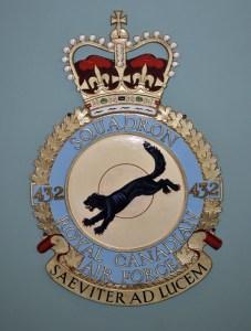RCAF Squadron 432 Saeviter Ad Lucem