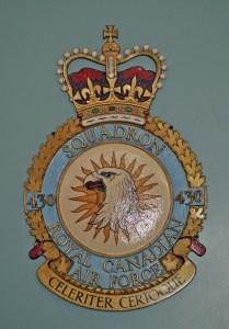 RCAF Squadron 430 Celeriter Cerioque