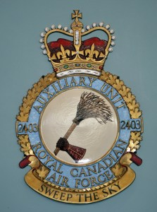 RCAF Auxiliary Unit 2403 Sweep The Skies