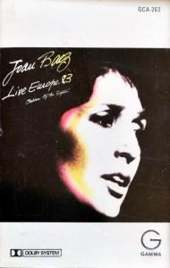 Joan Baez Live Europe