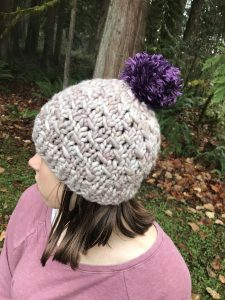 solstice chunky hat