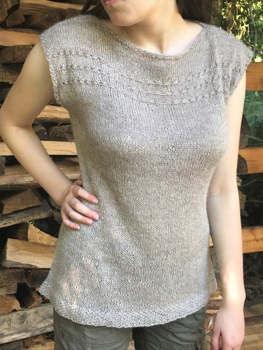 marram tee knitting pattern