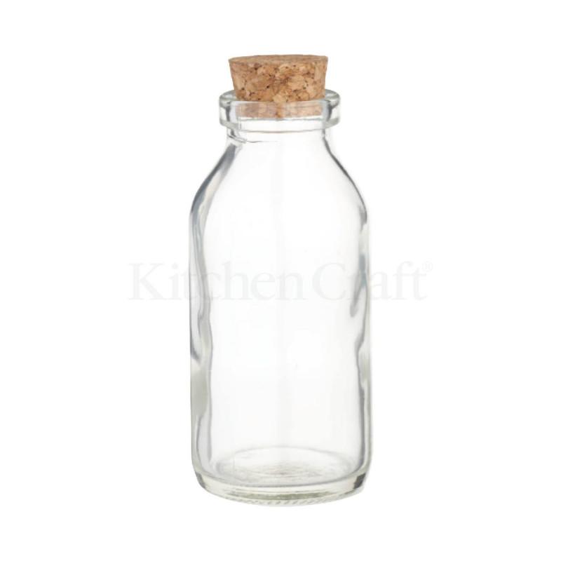 Botella de cristal bsica 125 ml