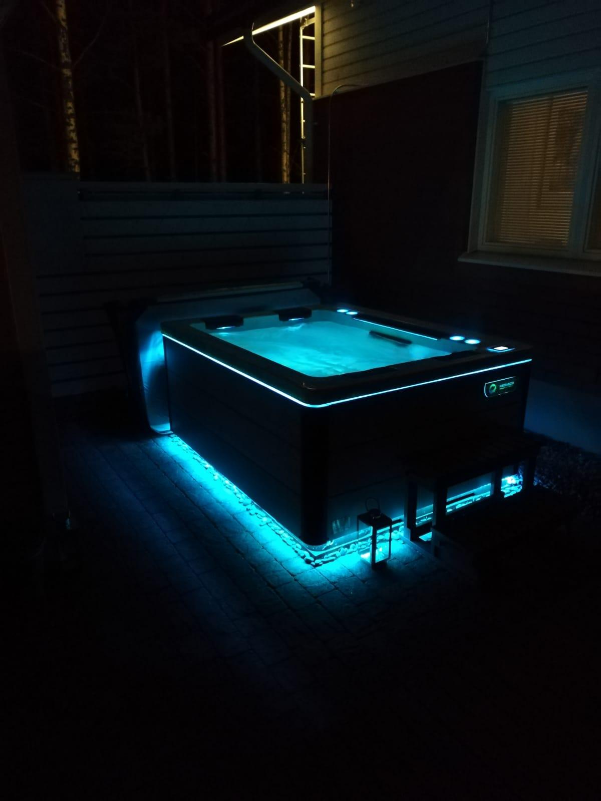 horizon 41 ulkoporeallas, LED-valot