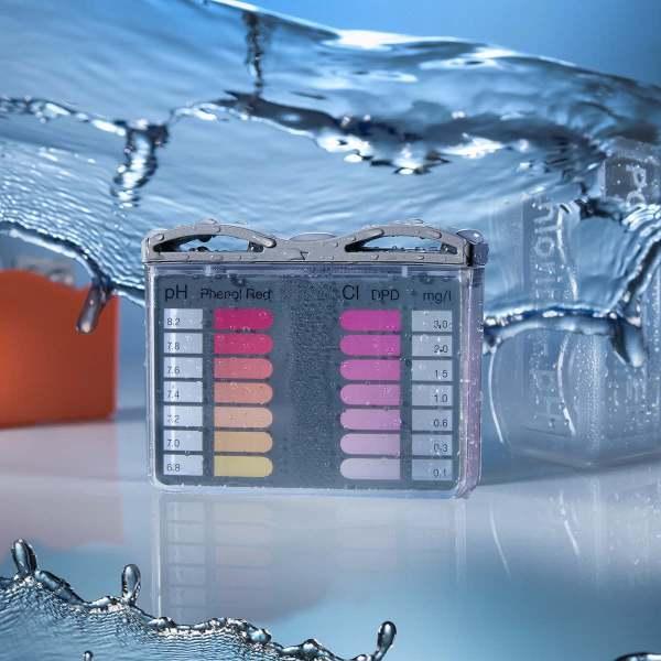 pH ja kloori mittalaite