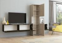 Design Wohnwand INCONTRO Wohnzimmerschrank TV Schrank ...