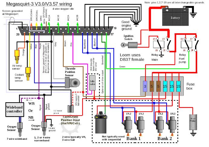 Megasquirtuk Co Uk Images MS3v3 Wiring