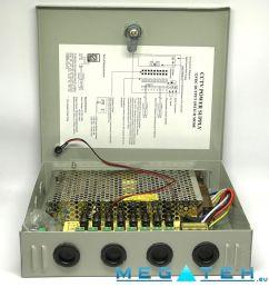 power box diagram wiring diagramcctv camera power supply box 12v 7a 8ch megateh eu [ 1000 x 1000 Pixel ]