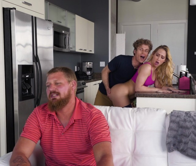 Carter Cruise Seduces Her Bfs Son Into A Sneaky Fuck Right Behind His Back