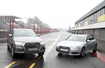 Los nuevos Audi A4 y Q7 se lucieron en el Autódromo de Buenos Aires