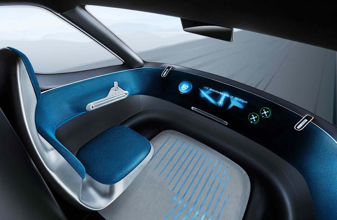 Mercedes Benz Vision Van La Sprinter Del Futuro Mega Autos