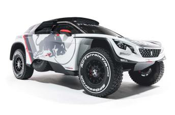 Objetivo Dakar 2017: así es el nuevo Peugeot 3008 DKR