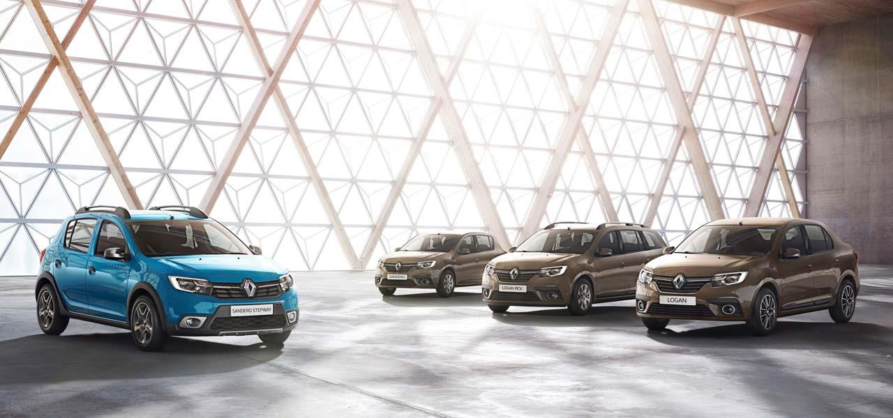 Nuevos Renault Sandero y Logan