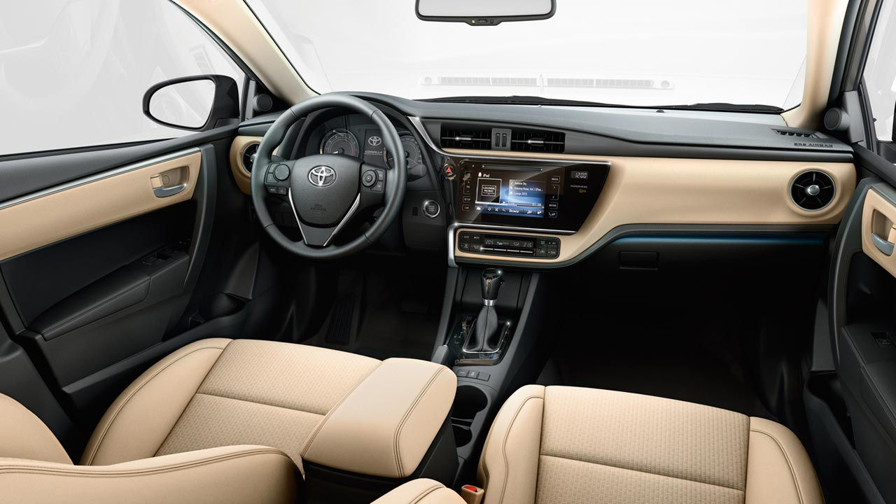 toyota corolla 2018 con nuevo facelift fue visto en brasil. Black Bedroom Furniture Sets. Home Design Ideas