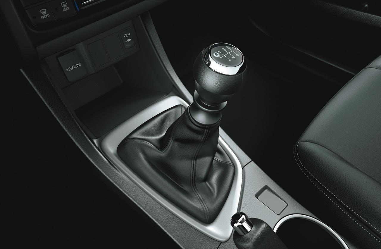 caja manual Nuevo Corolla