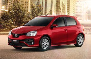La actualización del Toyota Etios (2017) llegó a Argentina