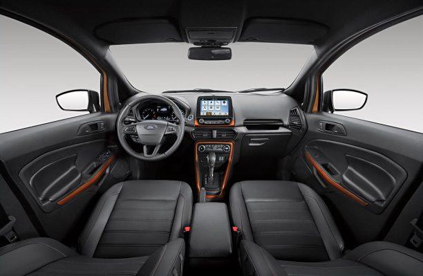 Interior Ford EcoSport Storm