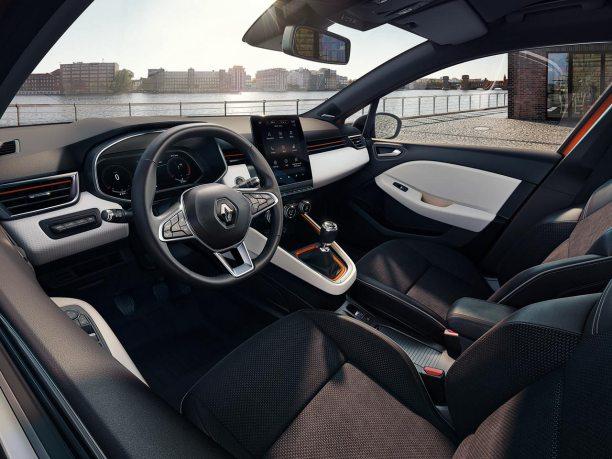 Interior Nuevo Renault Clio