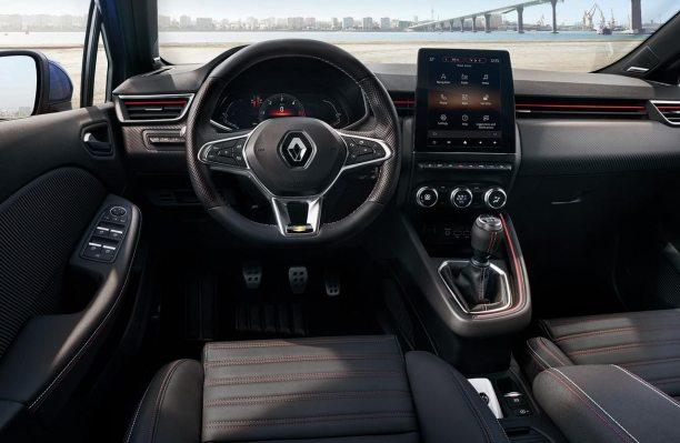 Interior nuevo Renault Clio RS Line