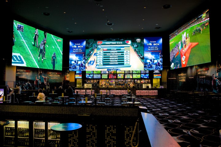Carbon Sports Bar Crown Casino Perth  Mega Vision