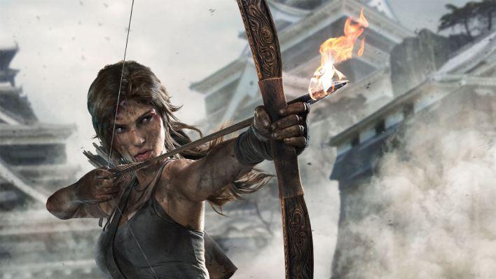 Hayley Atwell Lara Croft Gameplay