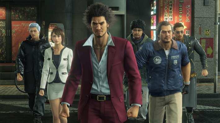 Ryu Ga Gotoku Restructuring Game