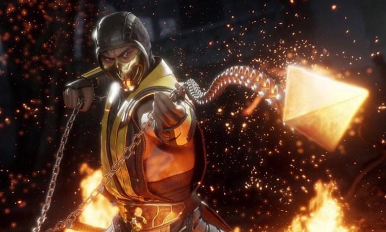 """Mortal Kombat Scorpion """"Get over here!"""""""
