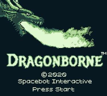 Dragonborne title screen