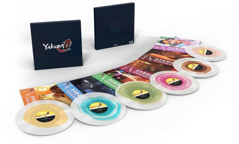 Yakuza vinyl collection