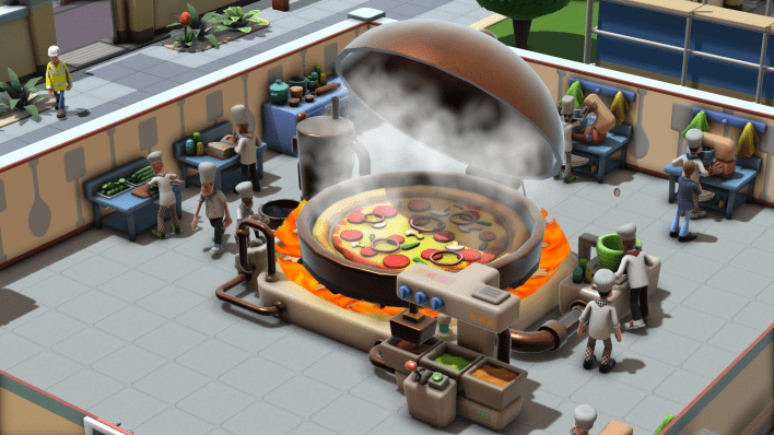Gastronomy Class Pizza Two Point Hospital