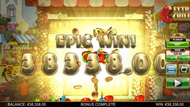 extra chhilli slot big win