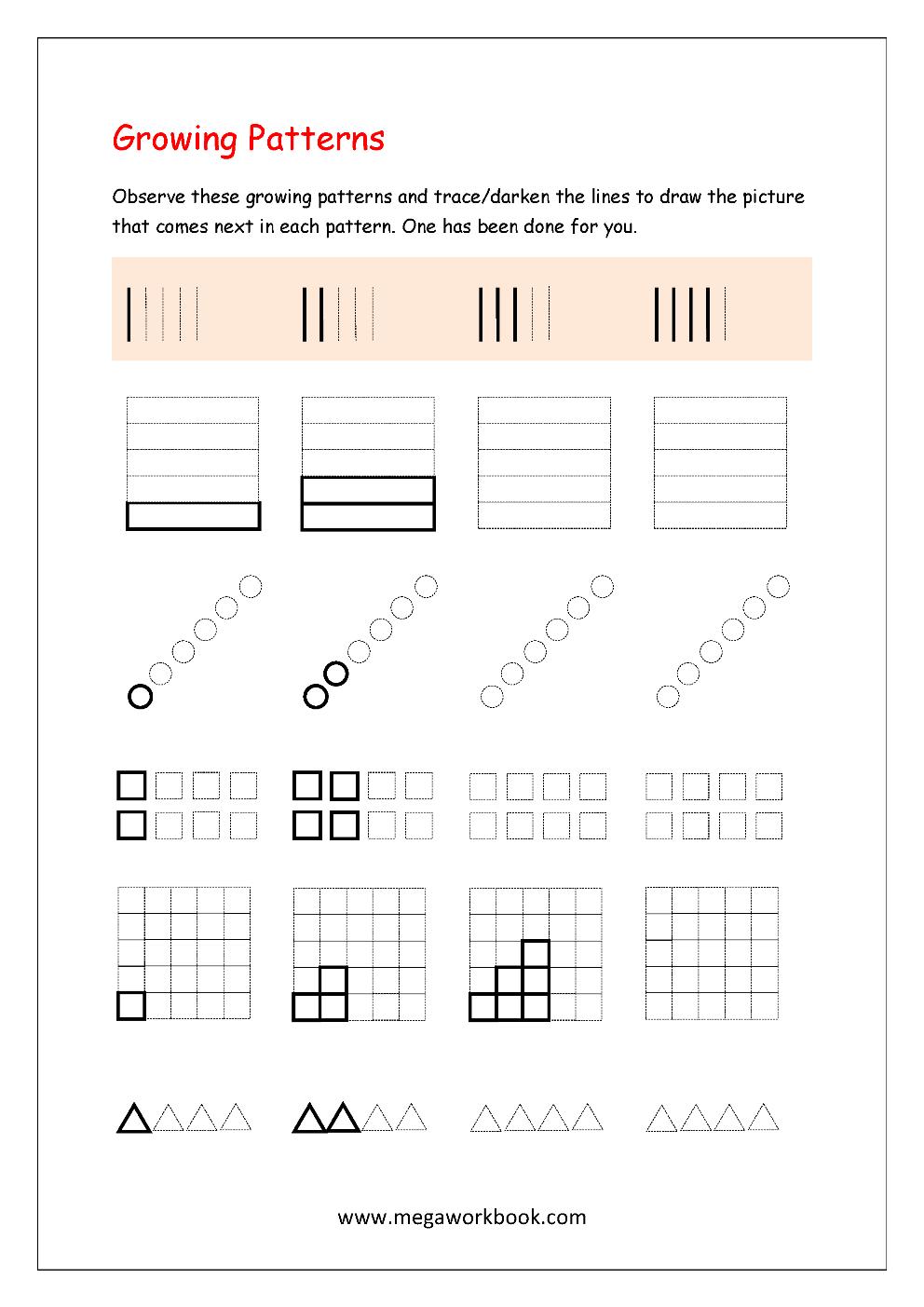 medium resolution of Free Printable Worksheets for Preschool and Kindergarten - MegaWorkbook