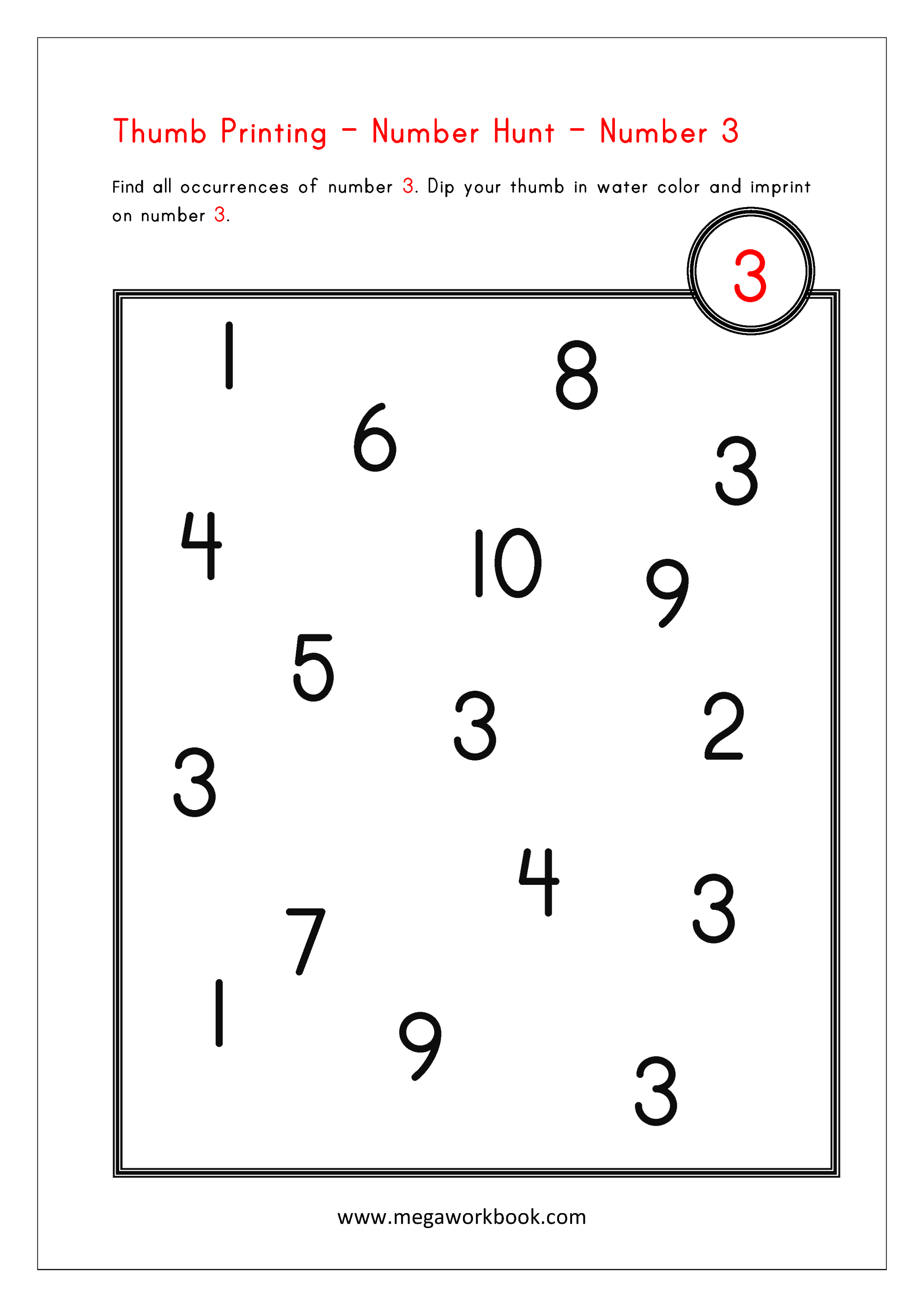 hight resolution of Math Activities for Preschoolers - Fun Math Activities - Kindergarten Math  Activities - MegaWorkbook