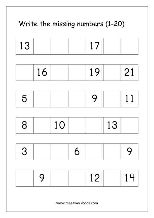 small resolution of Ordering Numbers Worksheets