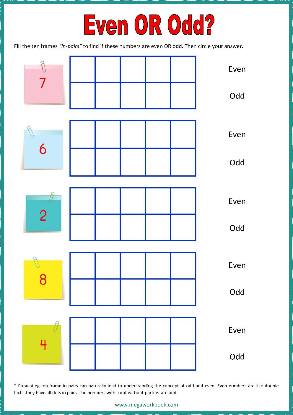 medium resolution of Ten Frame Worksheets - Ten Frames - 10 Frames (Counting